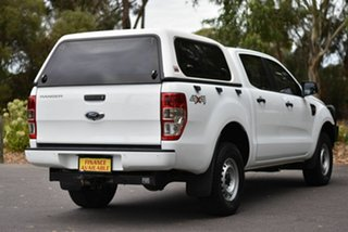 2017 Ford Ranger PX MkII 2018.00MY XLT Double Cab 4x2 Hi-Rider White 6 Speed Manual Utility