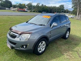 2011 Holden Captiva CG Series II 5 AWD Silver 6 Speed Sports Automatic Wagon.