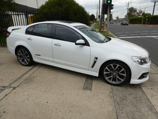 2014 Holden Commodore VF MY14 SS V Antarctic White 6 Speed Sports Automatic Sedan.
