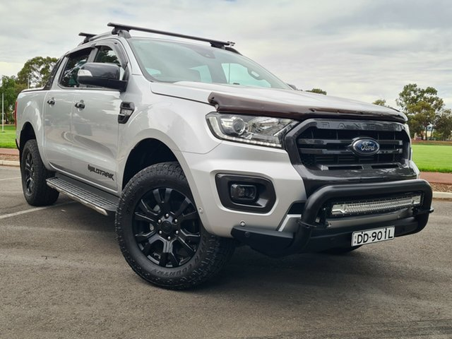 Used Ford Ranger PX MkIII 2019.00MY Wildtrak Nailsworth, 2018 Ford Ranger PX MkIII 2019.00MY Wildtrak Silver 10 Speed Sports Automatic Utility