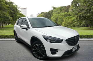 2016 Mazda CX-5 KE1032 Akera SKYACTIV-Drive AWD White 6 Speed Sports Automatic Wagon.