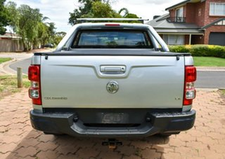 2013 Holden Colorado RG MY13 LX Crew Cab Silver 5 Speed Manual Utility