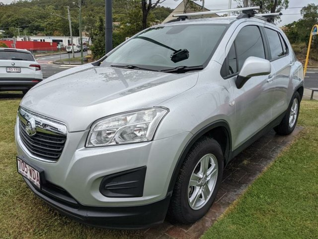 Used Holden Trax TJ MY16 LS Mount Gravatt, 2015 Holden Trax TJ MY16 LS Silver 6 Speed Automatic Wagon