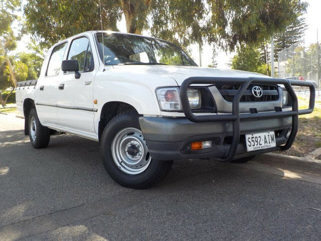 Used Toyota Hilux RZN149R MY02 4x2 Broadview, 2002 Toyota Hilux RZN149R MY02 4x2 5 Speed Manual Utility