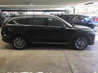 2020 Mazda CX-8 KG4W2A GT SKYACTIV-Drive i-ACTIV AWD Jet Black 6 Speed Sports Automatic Wagon.
