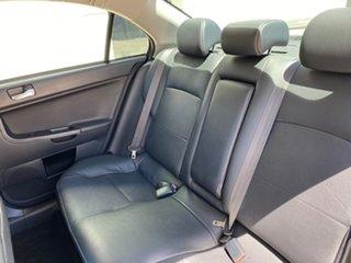 2012 Mitsubishi Lancer CJ MY12 Platinum Silver 5 Speed Manual Sedan