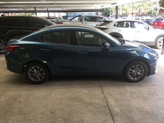 2021 Mazda 2 DL2SAA G15 SKYACTIV-Drive Pure Eternal Blue 6 Speed Sports Automatic Sedan.