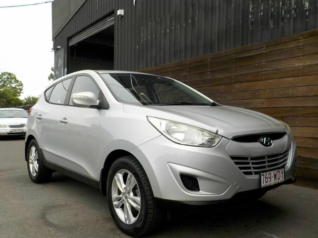 Used Hyundai ix35 LM Active Labrador, 2010 Hyundai ix35 LM Active Silver 6 Speed Sports Automatic Wagon