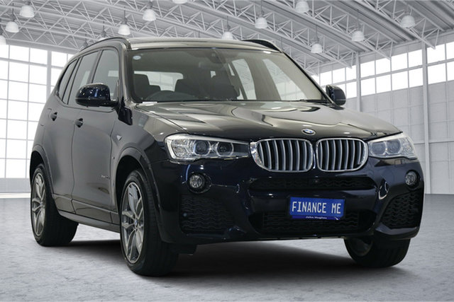 Used BMW X3 F25 LCI xDrive30d Steptronic Victoria Park, 2017 BMW X3 F25 LCI xDrive30d Steptronic Blue 8 Speed Sports Automatic Wagon