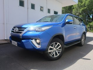 2015 Toyota Fortuner GUN156R Crusade Blue 6 Speed Automatic Wagon.