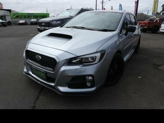 2016 Subaru Levorg MY17 2.0 GT-S (AWD) Silver Continuous Variable Wagon.