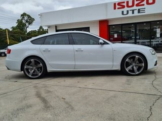 2013 Audi A5 8T MY13 Sportback 3.0 TDI Quattro White 7 Speed Auto Direct Shift Hatchback