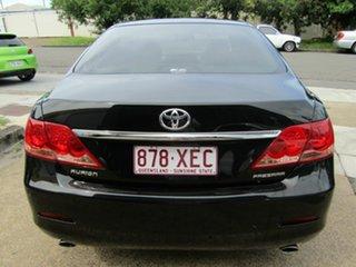 2008 Toyota Aurion GSV40R Presara Black 6 Speed Sports Automatic Sedan.
