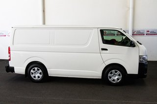 2013 Toyota HiAce KDH201R MY12 Upgrade LWB French Vanilla 5 Speed Manual Van