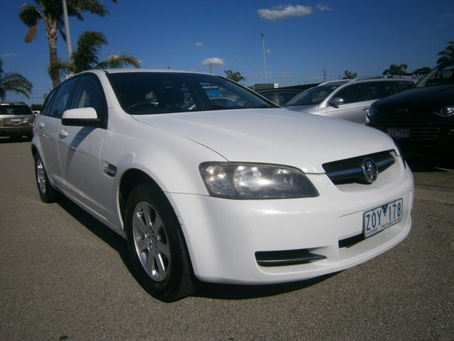 Used Holden Commodore VE MY09.5 Omega Sportwagon Cheltenham, 2009 Holden Commodore VE MY09.5 Omega Sportwagon White 4 Speed Automatic Wagon