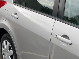 2007 Nissan Tiida C11 MY07 ST Silver 4 Speed Automatic Hatchback