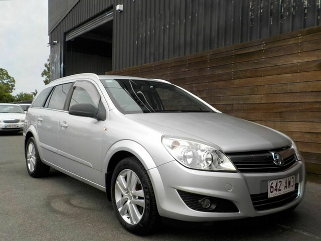 Used Holden Astra AH MY09 CDTi Labrador, 2008 Holden Astra AH MY09 CDTi Silver 6 Speed Sports Automatic Wagon