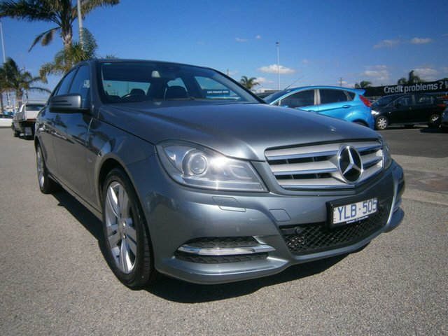 Used Mercedes-Benz C-Class W204 MY11 C200 BlueEFFICIENCY 7G-Tronic + Cheltenham, 2011 Mercedes-Benz C-Class W204 MY11 C200 BlueEFFICIENCY 7G-Tronic + Grey 7 Speed Sports Automatic
