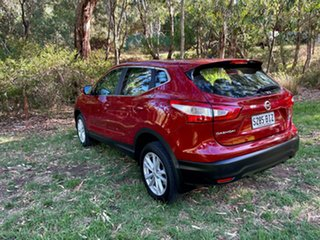2015 Nissan Qashqai J11 ST Magnetic Red 1 Speed Constant Variable Wagon.