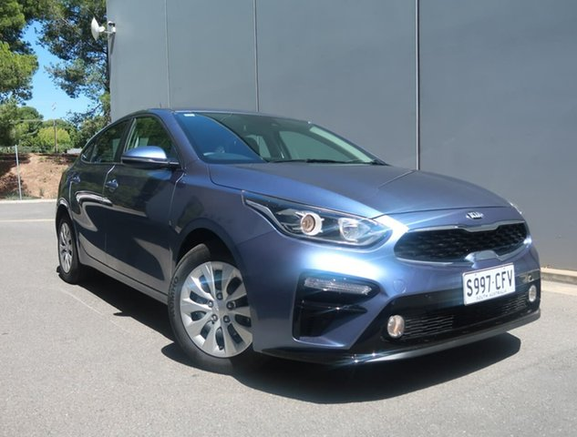 Used Kia Cerato BD MY21 S Reynella, 2020 Kia Cerato BD MY21 S Blue 6 Speed Sports Automatic Hatchback