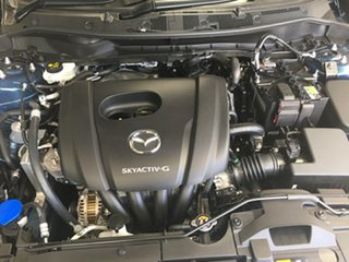 2021 Mazda 2 DL2SAA G15 SKYACTIV-Drive Pure Eternal Blue 6 Speed Sports Automatic Sedan