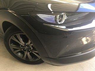 2020 Mazda CX-30 DM4WLA G25 SKYACTIV-Drive i-ACTIV AWD Astina Jet Black 6 Speed Sports Automatic.