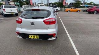 2015 Kia Rio UB MY16 S Silver 4 Speed Sports Automatic Hatchback.