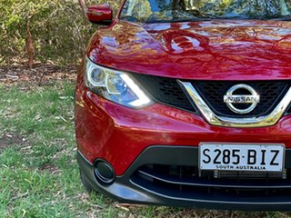 2015 Nissan Qashqai J11 ST Magnetic Red 1 Speed Constant Variable Wagon