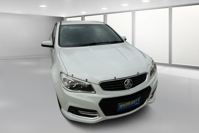 Used Holden Commodore VF MY14 SS V West Footscray, 2014 Holden Commodore VF MY14 SS V White 6 Speed Sports Automatic Sedan
