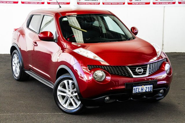 Pre-Owned Nissan Juke F15 TI-S (AWD) Rockingham, 2014 Nissan Juke F15 TI-S (AWD) Red Continuous Variable Wagon