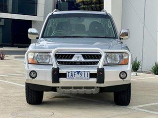 2004 Mitsubishi Pajero NP MY04 GLS 21ST Anniversary Silver 5 Speed Sports Automatic Wagon.