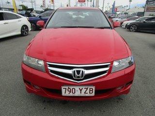 2007 Honda Accord Euro CL MY2007 Luxury Red 6 Speed Manual Sedan