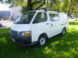 2000 Toyota HiAce RZH113R White 5 Speed Manual Van