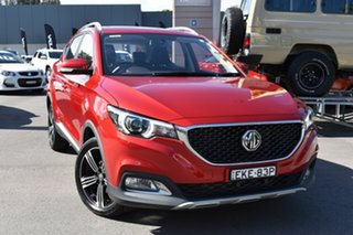 2019 MG ZS AZS1 MY19 Essence 2WD Red/Black 6 Speed Automatic Wagon.