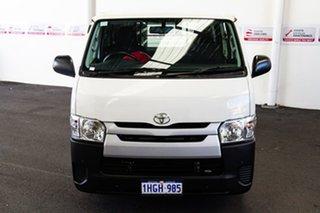 2017 Toyota HiAce KDH201R MY16 LWB French Vanilla 4 Speed Automatic Van.
