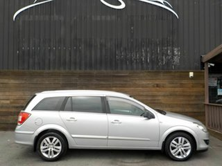 2008 Holden Astra AH MY09 CDTi Silver 6 Speed Sports Automatic Wagon.