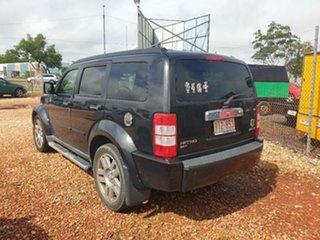 2008 Dodge Nitro Black 4 Speed Automatic Wagon.