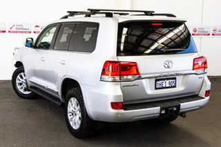 2020 Toyota Landcruiser VDJ200R Sahara Silver Pearl 6 Speed Sports Automatic Wagon