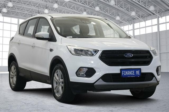 Used Ford Escape ZG 2019.25MY Ambiente Victoria Park, 2019 Ford Escape ZG 2019.25MY Ambiente White 6 Speed Sports Automatic SUV