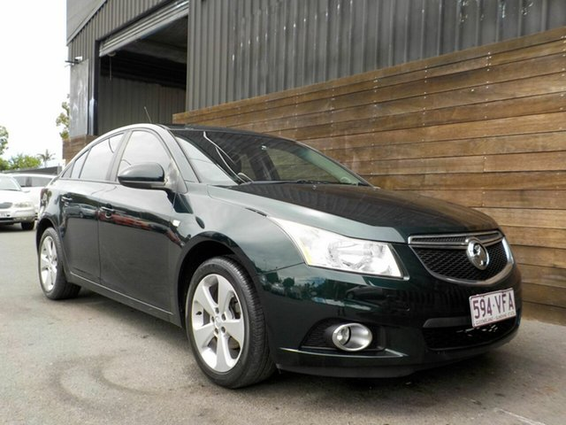 Used Holden Cruze JH Series II MY14 Equipe Labrador, 2014 Holden Cruze JH Series II MY14 Equipe Green 6 Speed Sports Automatic Sedan