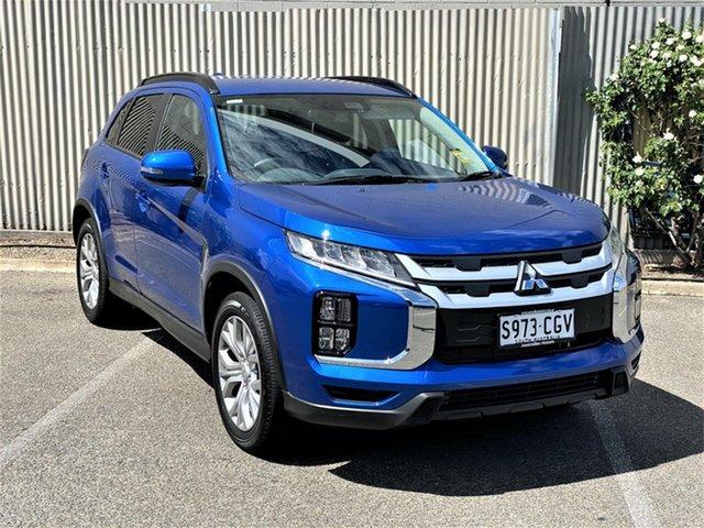 Demo Mitsubishi ASX XD MY21 LS 2WD Morphett Vale, 2020 Mitsubishi ASX XD MY21 LS 2WD Lightning Blue 1 Speed Constant Variable Wagon