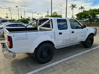 2012 Nissan Navara D22 S5 ST-R White 5 Speed Manual Utility.