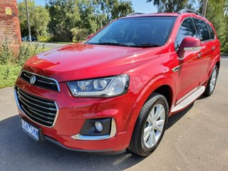 2015 Holden Captiva CG 7 LT Red Sports Automatic Wagon.