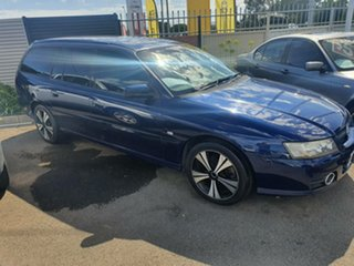2005 Holden Commodore VZ Lumina Blue 4 Speed Automatic Wagon