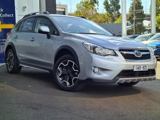 2014 Subaru XV 2.0i-S Silver 7 Speed Automatic Wagon.
