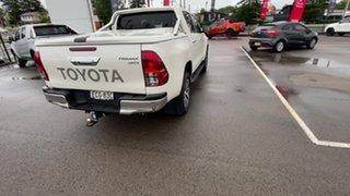 2019 Toyota Hilux GUN126R SR5 Double Cab White 6 Speed Sports Automatic Utility.