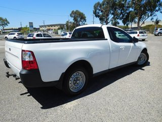 2011 Ford Falcon FG MkII Ute Super Cab White 6 Speed Sports Automatic Utility