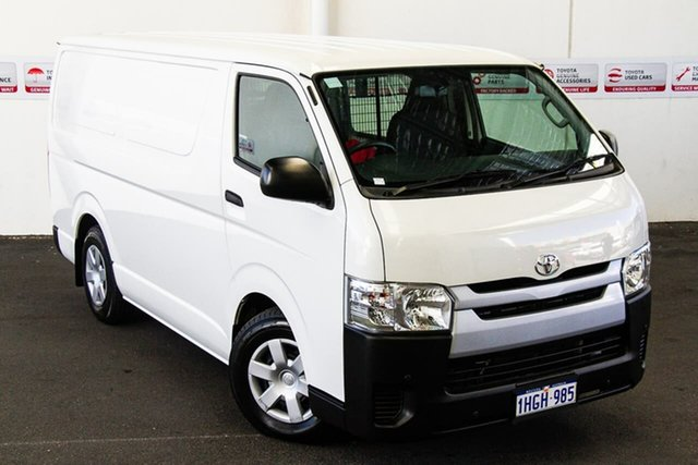 Pre-Owned Toyota HiAce KDH201R MY16 LWB Rockingham, 2017 Toyota HiAce KDH201R MY16 LWB French Vanilla 4 Speed Automatic Van