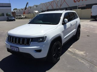 2019 Jeep Grand Cherokee WK MY19 Laredo White 8 Speed Sports Automatic Wagon.