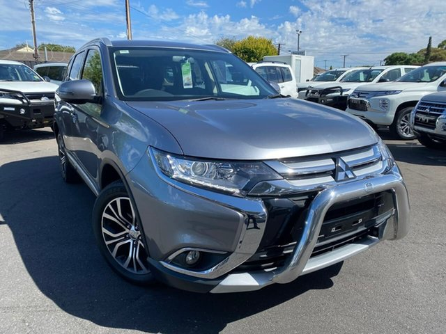 Used Mitsubishi Outlander ZK MY17 LS 4WD Hillcrest, 2017 Mitsubishi Outlander ZK MY17 LS 4WD Titanium 6 Speed Constant Variable Wagon